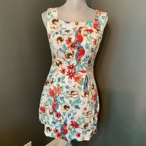 Derek Heart Floral Cotton Dress